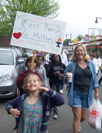 First Parish Milton Walk for Peace