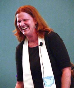 Lisa laughing